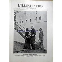 ILLUSTRATION (L') [No 3992] du 06/09/1919 - UNE GRANDE INFORTUNE IMPERIALE / L'IMPERATRICE DOUAIRIERE DE RUSSIE - MERE DU TSAR NICOLAS II - EVADEE DE L'ENFER BOLCHEVIK REVIENT EN DANEMARK ACCUEILLIE PAR LE ROI CHRISTIAN X