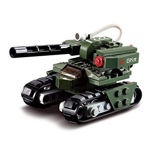 MXECO 103pcs Building Block Red Alert 3 Martello Tank Tank Militare Compatibile con Mattoni Leading Giocattolo educativo per la Vita dei Bambini Rone