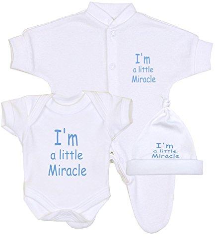 Premature Baby Clothes Sleepsuit Bodysuit & Hat