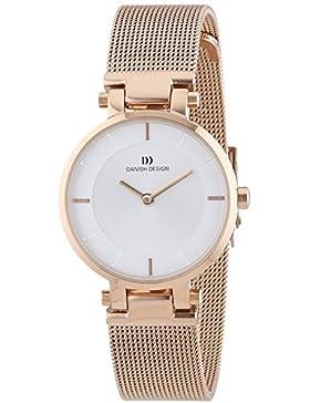 Danish Design Damen-Armbanduhr XS Analog Quarz Edelstahl beschichtet 3320188