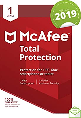 McAfee 2019 Total Protection : everything five pounds (or less!)