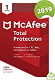 Picture Of McAfee 2019 Total Protection, 1 Device, PC/Mac/Android/Smartphones [Download]