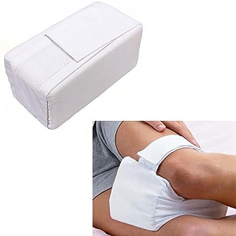 NEITU® Memory Foam Komfortschaum Kniekissen/ Beinkissen/Bett Kisse/ Keilkissen Druck Relief Schlaf Hilfe