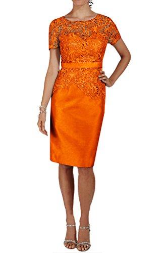 Missdressy - Robe - Crayon - Femme Orange