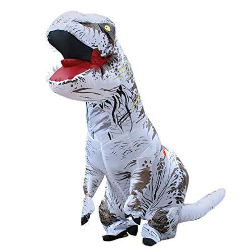 (Happy Event Erwachsener aufblasbarer T-Rex Trex Dinosaurier Explosions Kostüm Klage Partei Spielzeug (Grau))