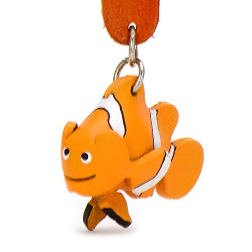 Monkimau Schlüsselanhänger Clownfische aus Leder
