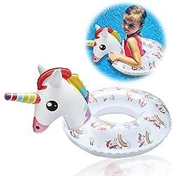 Flotador Inflable Unicornio para niños de 2-8 años