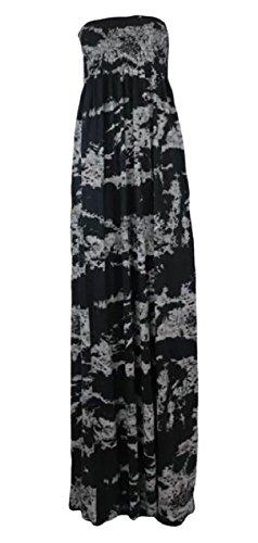 WICKEDFASHIONS123 Damen Kleid TYE DYE (Dye Tye Kleid)