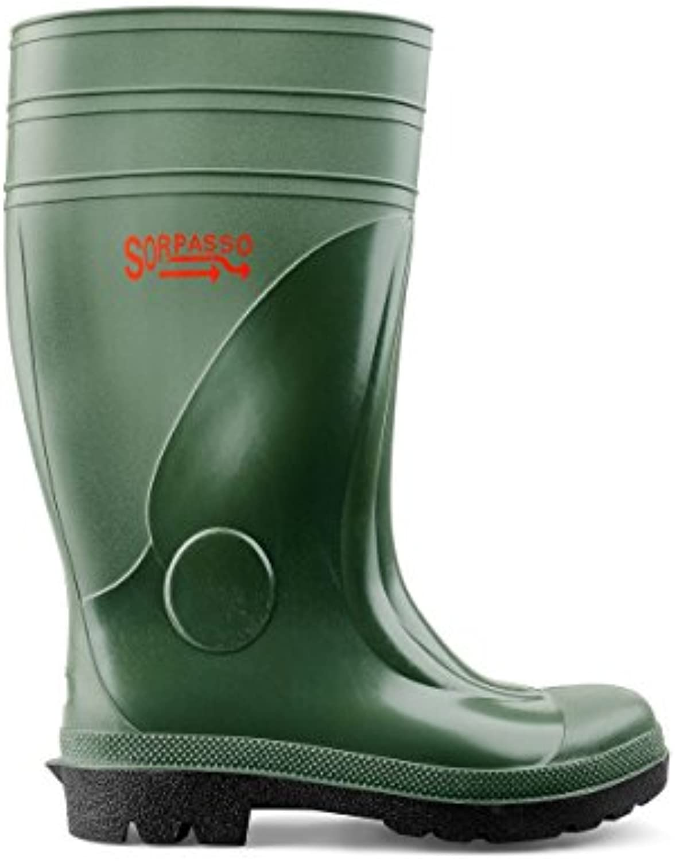 SOCIM-Stivale seguridad, PVC, 4024 ppp, 2ª categoría S5, verde