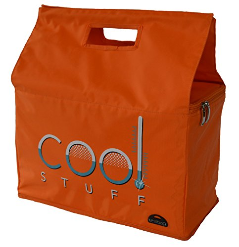 Kerribag Cool Stuff borsa termica per spesa riutilizzabile, shopper, borsa termica, arancione [cucina]