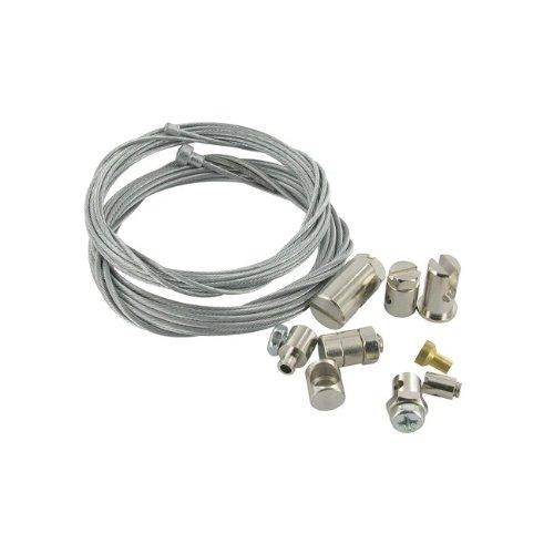 Preisvergleich Produktbild Reparaturset Seilzug Bowdenzug / Gaszug Bremszug Schaltzug und Kupplungszug, universal (2x2,5m)