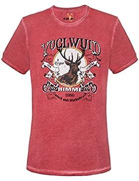 Michaelax-Fashion-Trade Marjo - Herren Trachten T-Shirt, M80 Voglwuid (620600-020041)