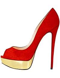 Suchergebnis auf für: Goldene High Heels, 2