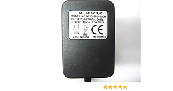 1000ma 18v 18va ac ac power adaptor supply transformer amazon co uk rh amazon co uk