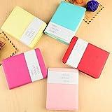 GROOMY Memo Charmant Mini Journal de Sourire Mignon Cahier de Notes Portable Smiley