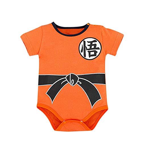 MAYOGO Mameluco Niño Ropa bebé Goku Manga