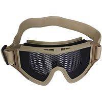 Generic - Malla metálica cqb tactical airsoft gafas gafas ( caqui )
