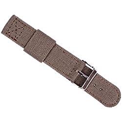 ygdz Armee Grün NATO Band Nylon Stoff Gurtband 20mm, für alle Watch Faces