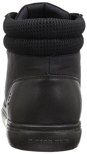 G-STAR RAW Zlov Cargo Mono Mid, Baskets Hautes Homme Noir (Black)