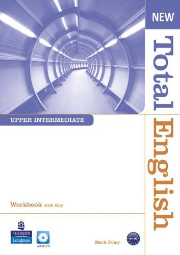 New Total English Upper Intermediate Workbook with Key and Audio CD Pack by Mark Foley (4-Aug-2011) Paperback