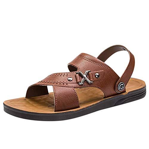Yazidan Herren Sommer Roman Flip Flops Beach Fashion Hausschuhe Komfort T-Ton mit offenen Zehen Sandalen - Freiheit Thong