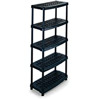 Terry 1000955 Scaffale in Plastica, (Porte 5 Shelf)