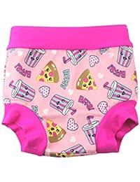 BabyPreg Bebé niños Nadar pañales Cubre pañales Cintura Alta natación Pantalones Cortos protección del Vientre