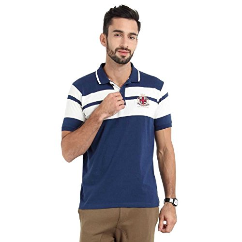 Proline Men's Short Polo With Denim Banana Patch