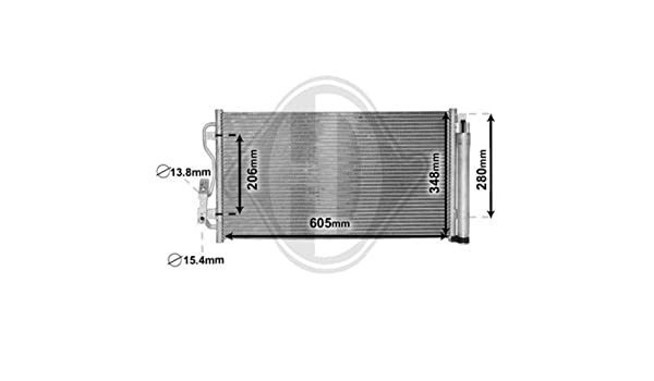 Diederichs Kondensator Klimaanlage Diederichs Climate DCC1576