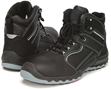 Samurai 1024116009 par de zapatillas altas Celcius S3 HRO HI CI SRC, negro/gris, 46