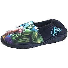 Marvel Kids Zapatillas para casa de Los Vengadores Light Up, tallas 9,5 - 16,5 cm