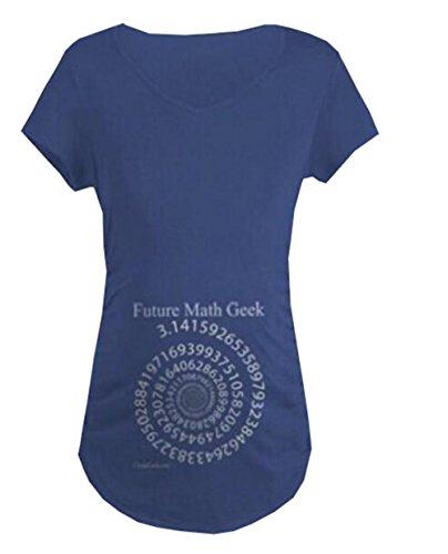 Umstandsmode Damen Kurzarm Rundhals Umstandsshirt Elegantes Maternity T-Shirt Lustige Aufdruck Umstandstop Bauch Stretch Oberteil