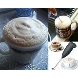 Pink Pari Classic Sleek Design Foamer / Frother / Whisker- For Caffãš Latte, Espresso, Cappuccino, Milkshakes, Lassi, Salad Dressing, Etc
