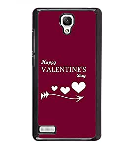 FUSON Designer Back Case Cover for Xiaomi Redmi Note :: Xiaomi Redmi Note 4G :: Xiaomi Redmi Note Prime (Valentine day design Lovable design Precious design Celebration of love design Romantic love design)