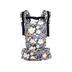 Baby Tula Free-to-Grow Baby Carrier French Marigold, Adjustable Newborn to Toddler Carrier, Ergonomic and Multiple Positions for 7-45 pounds -   8