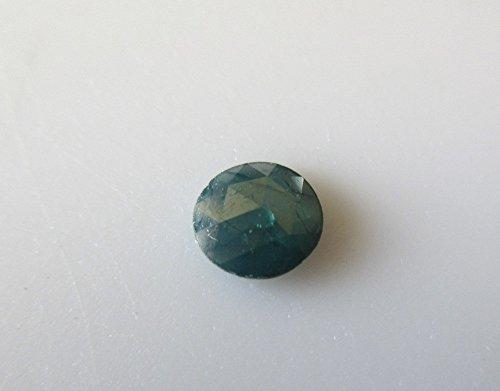 sciolti diamanti taglio 1pz blu/rosa/raw Rough blu diamanti rosa sfaccettato taglio cabochon/6mm-DDS120/3