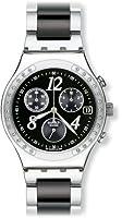 Reloj de caballero Swatch IRONY CHRONO de cuarzo, correa de acero inoxidable color plata de Swatch