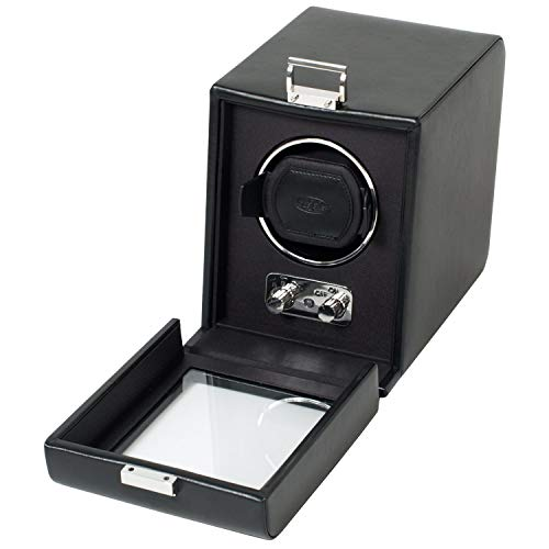 Wolf Designs 270002 Heritage Module 2.1 Single Watch Winder with Cover