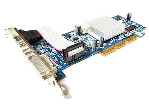 Gigabyte ATI Radeon 9250 128MB DDR DVI-D VGA TV-Out AGP 8x Card GV-R925128DE-RH (Generalüberholt) -