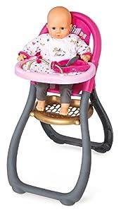 accesorios para bebe: Trona Baby Nurse para muñeco bebé con accesorios (Smoby 220310)