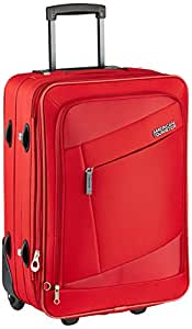 American Tourister Elegance Plus Polyester 55 cms Red Softsided Carry-On (87W (0) 00 101)