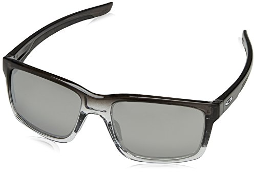 Oakley Herren Sonnenbrille Mainlink, Schwarz (Dark Ink Fade/Chrome Irridium), 57