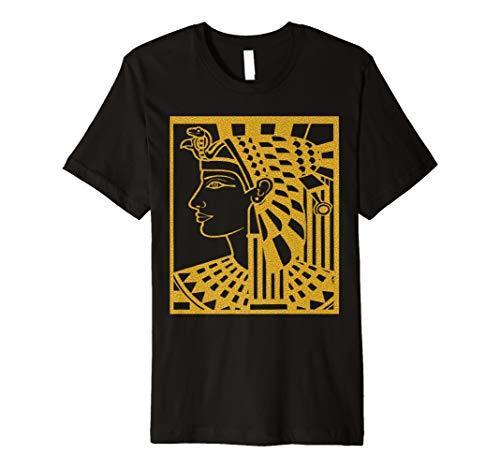 (Ägyptische Göttin und Götter Alten Ägypten T Shirt für Herren Halskette)