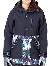 Nikita Chaqueta Snow para Mujer Sycamore Negro- Paint Palette (M, Negro)