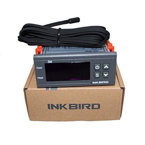 Inkbird ITC-2000 Dispositivo para Digital Relé 220V Controlador Temperatura , Regulador Refrigeración...