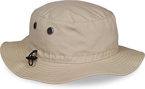 Outdoor Sommerhut mit UV Schutz 50 + Farbe Khaki