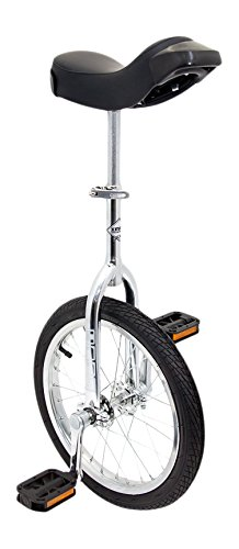 Indy Unicycles Kid's Trainer Unicycle - Chrome Plated, 16-Inch