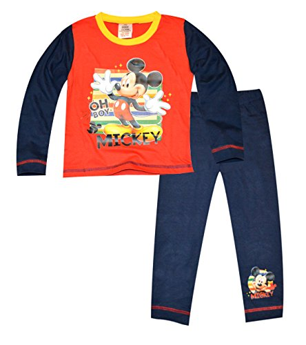Boys-Kids-Mickey-Mouse-Pyjamas-Age-1-1515-22-33-4-Years