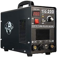 Máquina Soldadora Inverter Necesario / Wig + Mma 200 Encendido + Máscara para Soldar + Accesorio