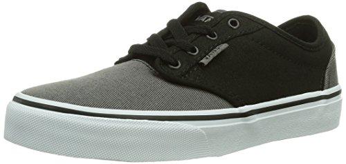 Vans - Sneaker Y Atwood, Unisex - bambino Nero (Noir (Black/Grey))
